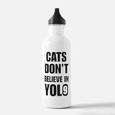 Cats Yolo Water Bottle