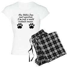 Well Trained Shiba Inu Owner Pajamas