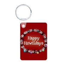 Happy Howlidays Keychains