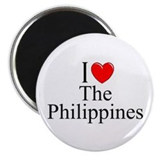 """""""I Love The Philippines"""" Magnet"""