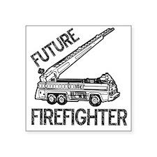 "FUTURE FIREFIGHTER.eps Square Sticker 3"" x 3"""