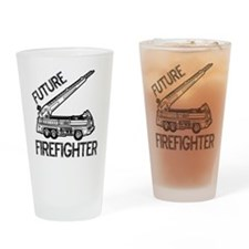 FUTURE FIREFIGHTER.eps Drinking Glass