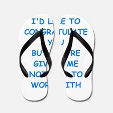 congratulations Flip Flops