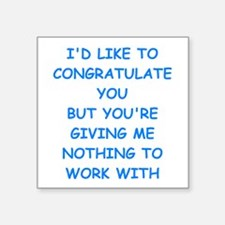 congratulations Sticker