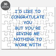 congratulations Puzzle
