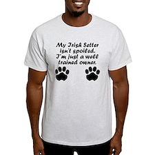 Well Trained Irish Setter Owner T-Shirt