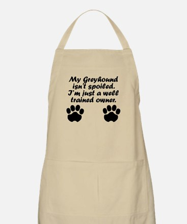Well Trained Greyhound Owner Apron