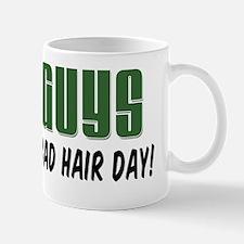 Bald Guys Bad Hair Day Small Small Mug