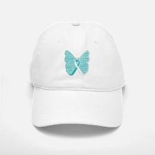 Butterfly Cervical Cancer Baseball Baseball Cap