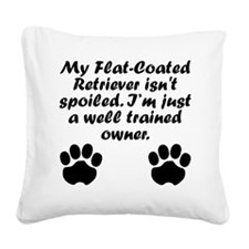 Well Trained Flat-Coated Retriever Owner Square Ca