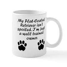 Well Trained Flat-Coated Retriever Owner Mugs