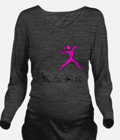 Javelin chick Long Sleeve Maternity T-Shirt