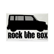 Rock the Box Rectangle Magnet