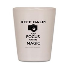 Focus on the Magic Shot Glass