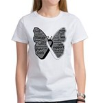 Butterfly Carcinoid Cancer Women's T-Shirt