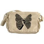 Butterfly Carcinoid Cancer Messenger Bag