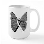 Butterfly Carcinoid Cancer Large Mug