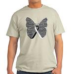 Butterfly Carcinoid Cancer Light T-Shirt
