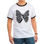 Butterfly Carcinoid Cancer Ringer T