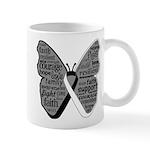 Butterfly Carcinoid Cancer Mug