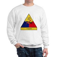 10th Armored Division - Tiger Division Sweatshirt