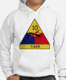 10th Armored Division - Tiger Di Hoodie