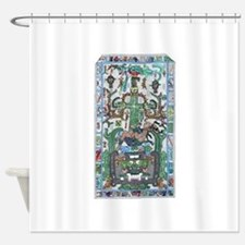 Lord Pacal the Rocket Man 2 Shower Curtain