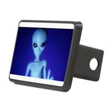 The Blue Alien Hitch Cover