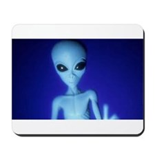 The Blue Alien Mousepad