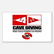 Cave Diving (Line Markers) Decal
