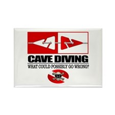 Cave Diving (Line Markers) Magnets