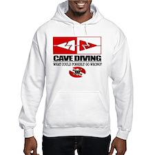 Cave Diving (Line Markers) Hoodie