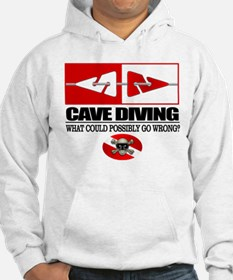 Cave Diving (Line Markers) Hoodie