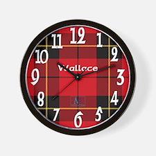 Wallace Clan Wall Clock