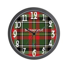 Stewart of Galloway Clan Wall Clock