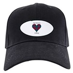 Heart - Lindsay Black Cap
