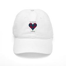 Heart - Lindsay Baseball Baseball Cap