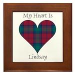 Heart - Lindsay Framed Tile