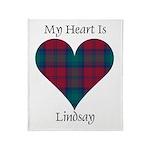 Heart - Lindsay Throw Blanket