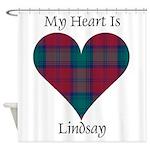 Heart - Lindsay Shower Curtain