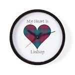 Heart - Lindsay Wall Clock