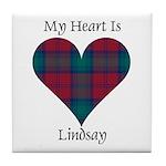 Heart - Lindsay Tile Coaster