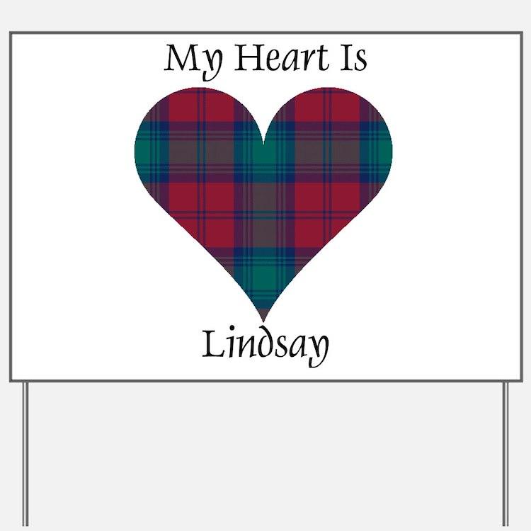Heart - Lindsay Yard Sign