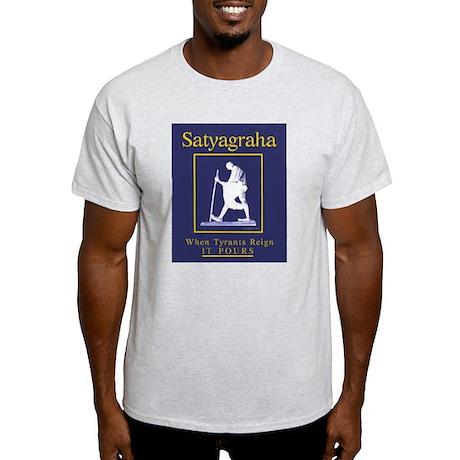 Satyagraha Ash Grey T-Shirt