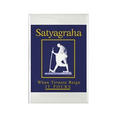 Satyagraha Rectangle Magnet (100 pack)