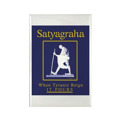 Satyagraha Rectangle Magnet