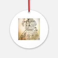 Wilde Round Ornament