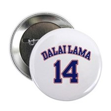 14th Dalia Lama Button