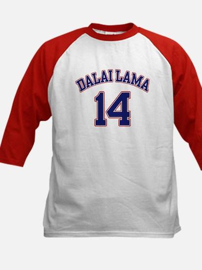 14th Dalia Lama Kids Baseball Jersey