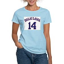14th Dalia Lama Women's Pink T-Shirt